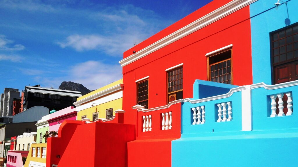 Bokaap - Det muslimske område i Cape Town