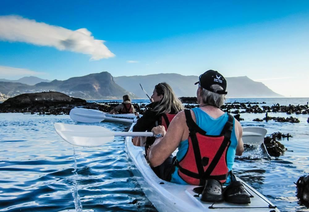 Syd for Cape Town - kajaktur