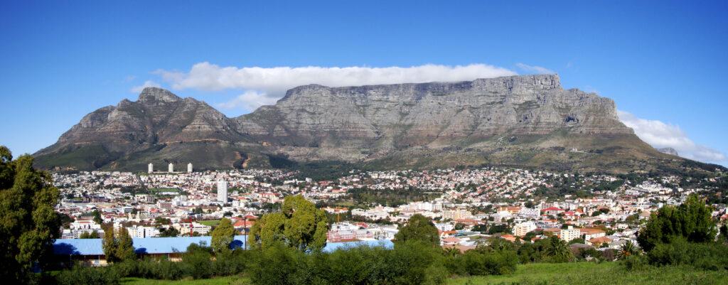 Rundrejse til Sydafrika - Table Mountain I Cape Town er umulig at komme udenom