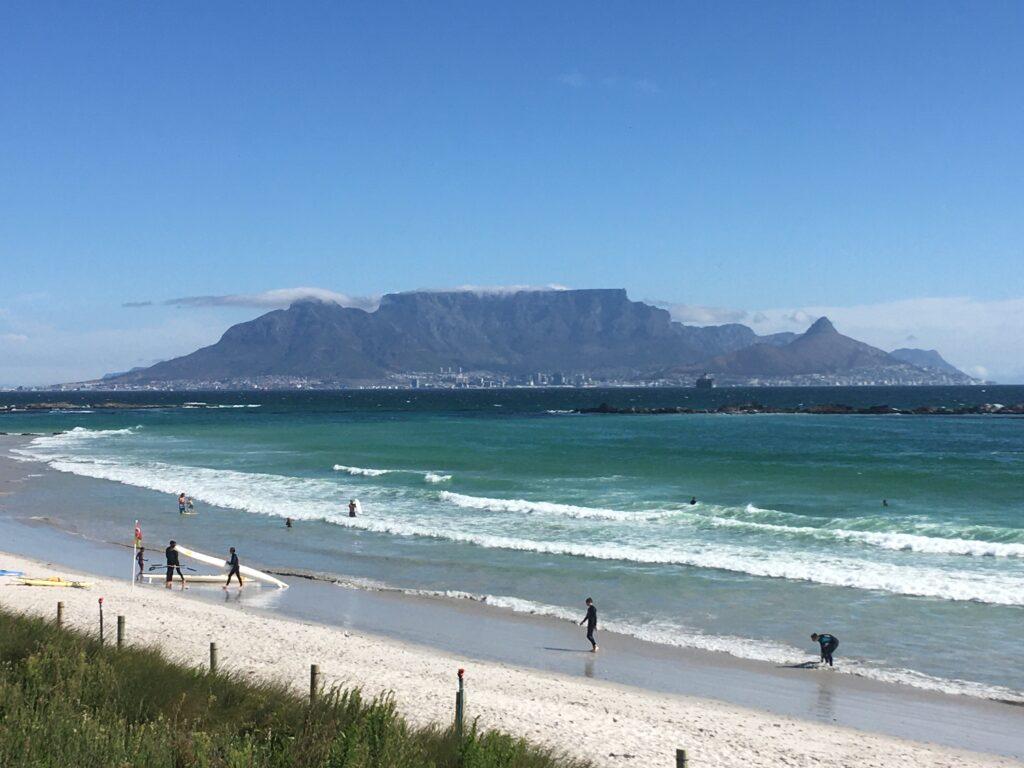 Table Mountain set fra Blaukrans