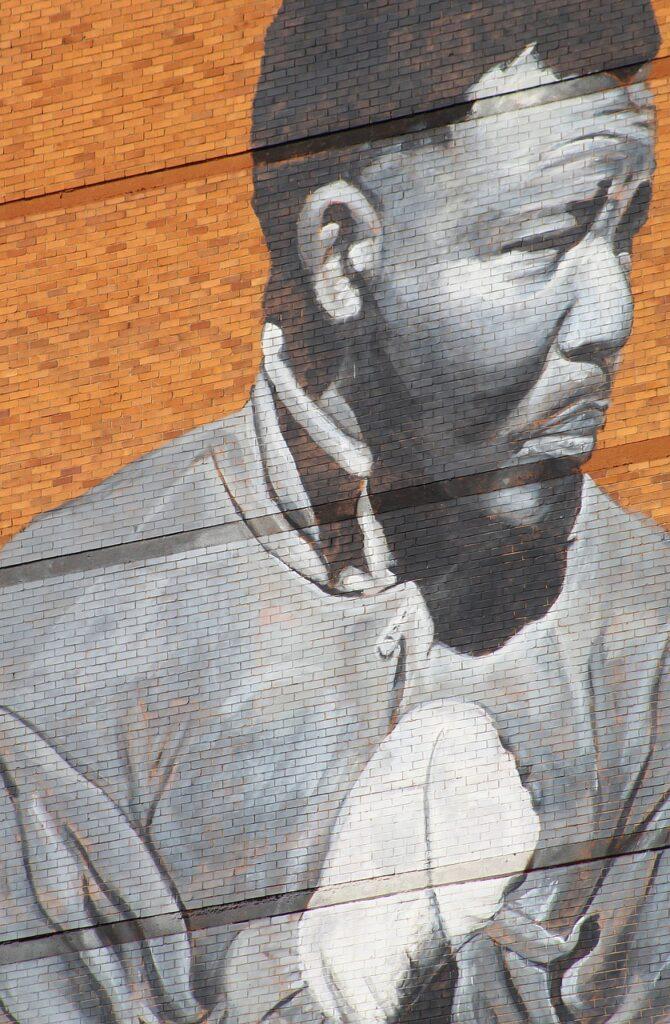 Mandela som bokser