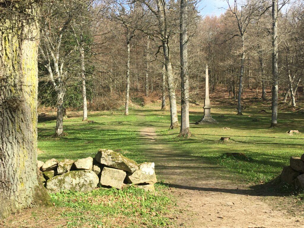 Vandretur til Bornholms største skov Almingen.